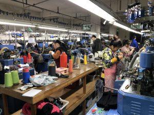 中国OEM生産の工場確認】諸曁市(ヂュージー市)5本指靴下工場   umond